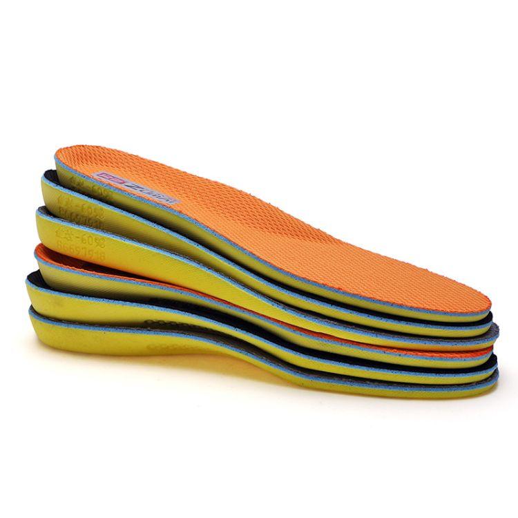 足迈四季抗菌运动鞋垫吸汗防臭减震军训护脚男女透气超软除臭鞋垫