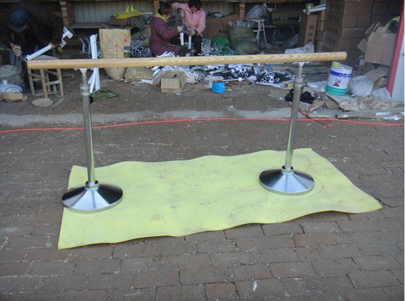 厂家直销铸铁舞蹈把杆镀铬舞蹈把杆不锈钢支架舞蹈把杆儿童用把杆