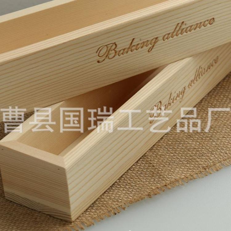 定做木质烘培工具 精美小吉饼干模具 长方形实木diy饼干模具