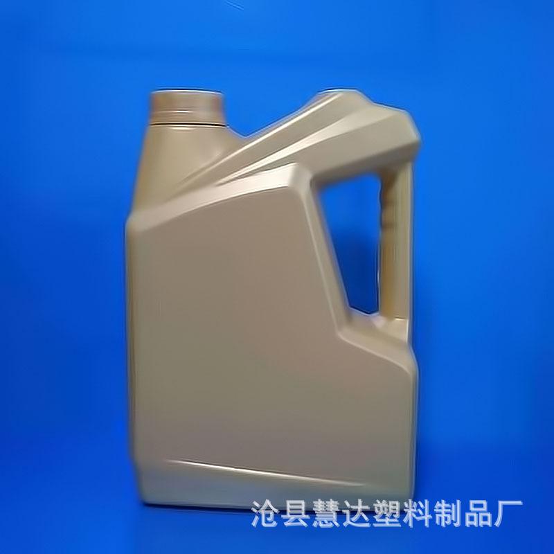 厂家生产 4L机油壶 防冻液桶 带液位线塑料壶 润滑油塑料瓶子