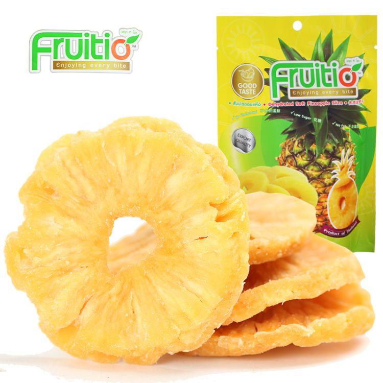 福泰果 泰国进口菠萝干凤梨干100g 果干休闲食品水果干零食批发