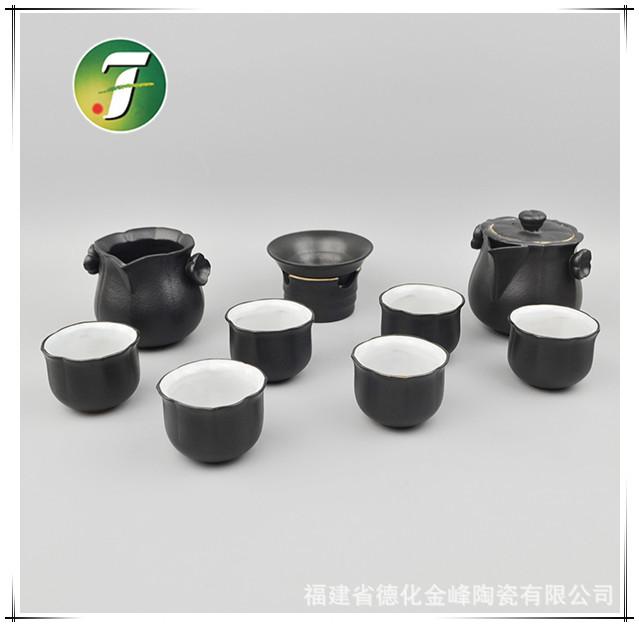 陶瓷精装茶具-陶制功夫系类茶具-批发整套陶瓷茶具