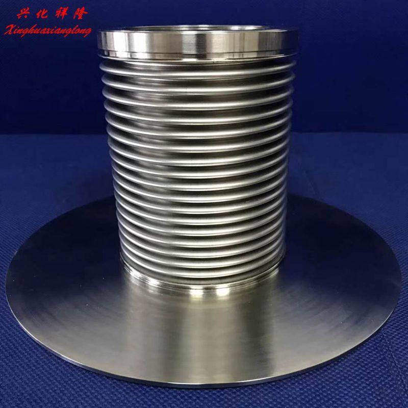 不锈钢法兰波纹管金属波纹管金属编制网波纹管补偿器弹力元件
