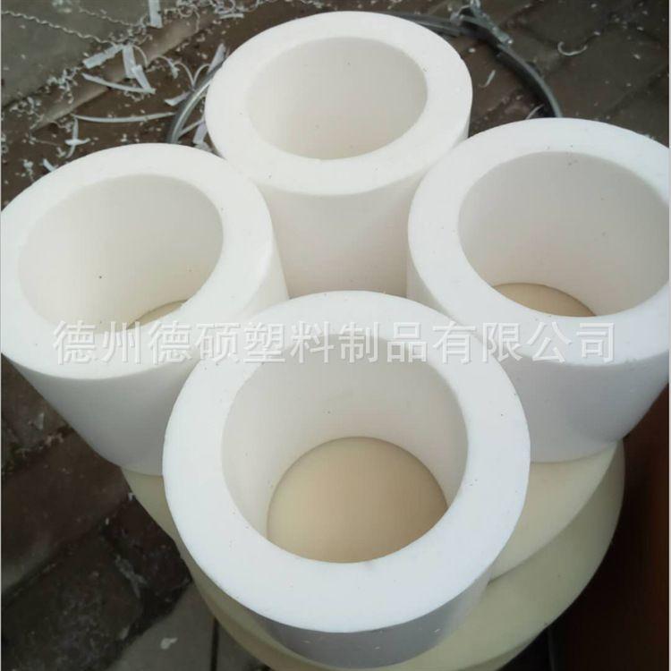 天津聚四氟乙烯耐磨轴套加工定做四氟套四氟绝缘轴套衬套