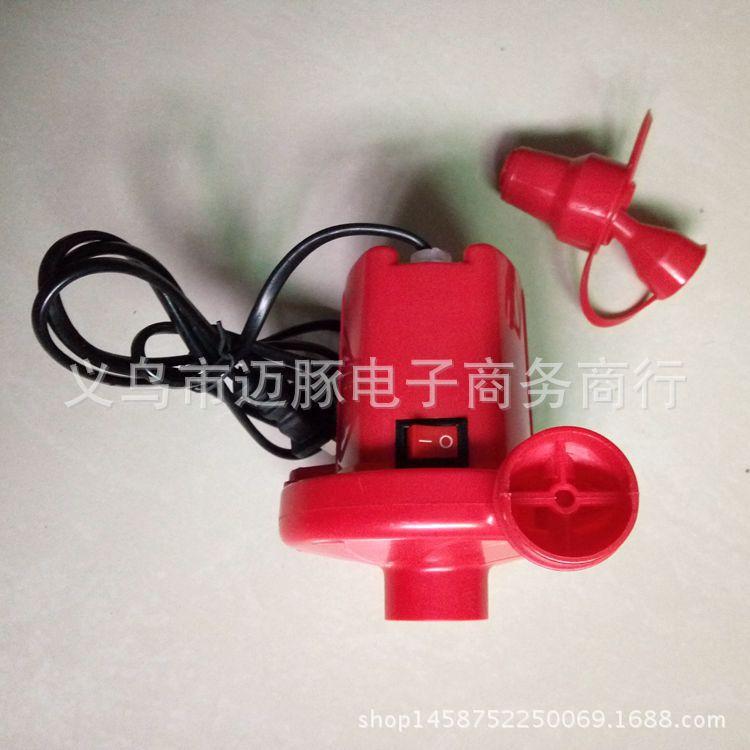 厂家直销电动充气泵游泳池充气泵 打气泵 充气床垫气泵 批发