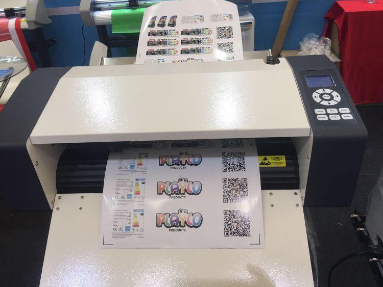 瀛和A3幅面 单张连续自动进纸标签机模切机送3000店铺现金卷