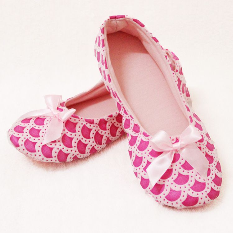 春夏全棉软底月子鞋 家居地板防滑孕妇鞋产妇产后做月子女拖鞋