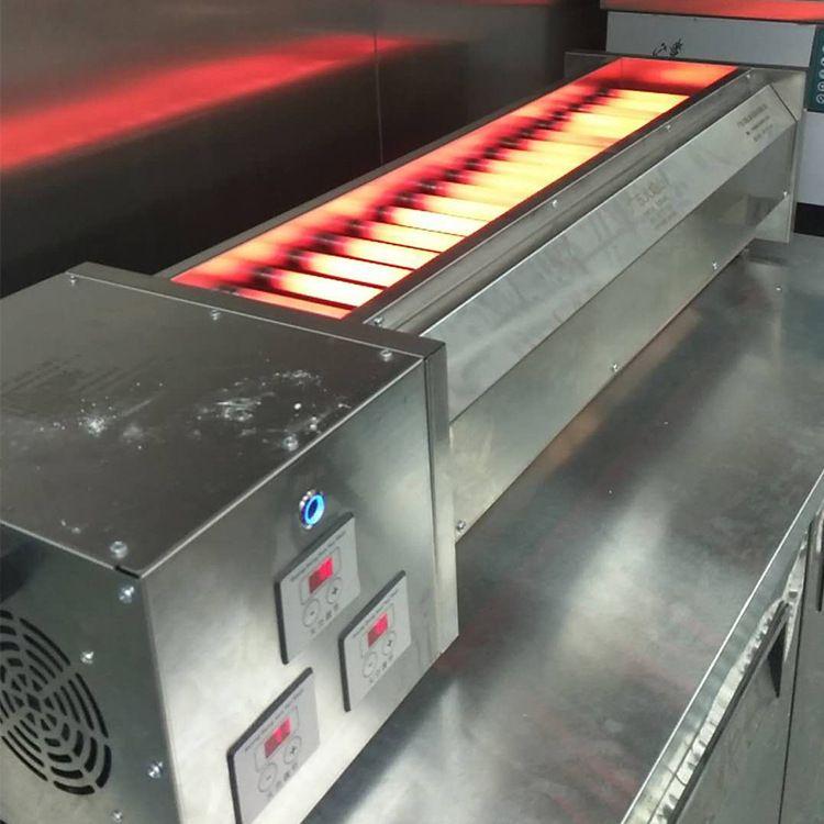 电烧烤炉商用电热烧烤炉黑金管烧烤炉烤 商场专用烤肉串炉