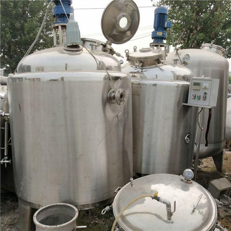 长期订做不锈钢搅拌罐二手不锈钢废机油搅拌罐二手不锈钢储罐