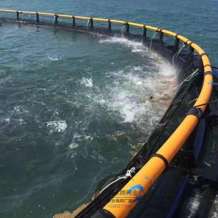 定做网箱 出口黑色聚乙烯深海养殖网箱价格 尼龙水库养鱼网箱厂家