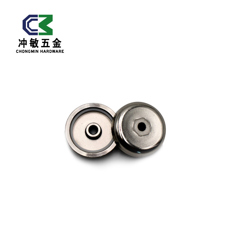 超强磁力挂钩 永磁挂钩 磁力吸盘 铁氧体磁性固定器磁性吸盘组件