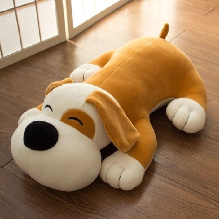 毛绒玩具厂 定做卡通形象狗公仔大玩偶 儿童睡觉安抚玩具来图定制