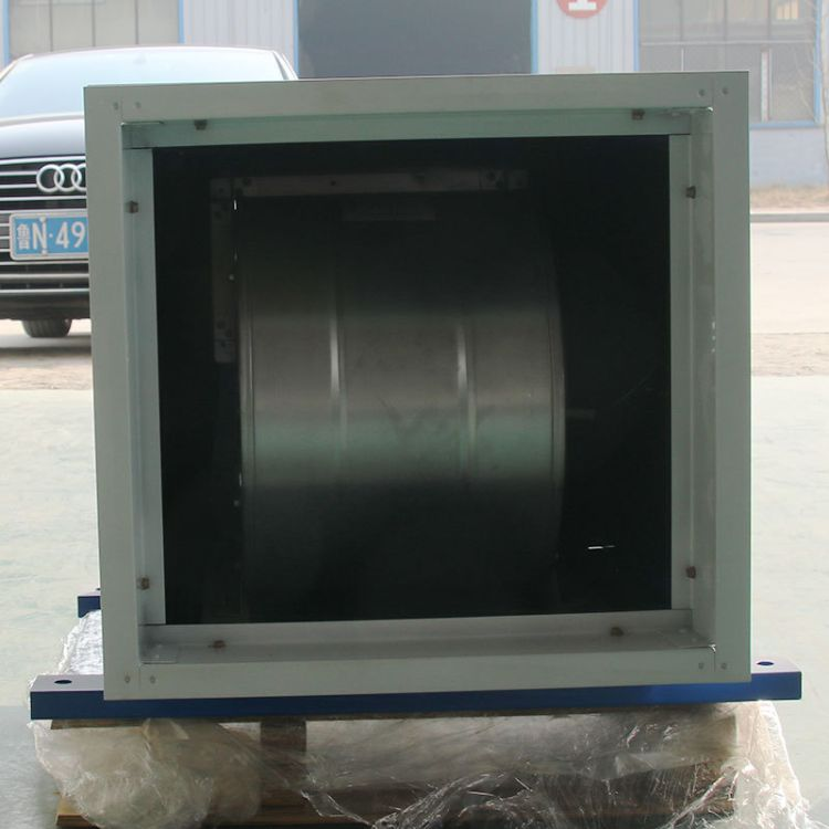 厂家直销送风风机箱低噪声柜式离心htfc消防离心式排烟风机箱