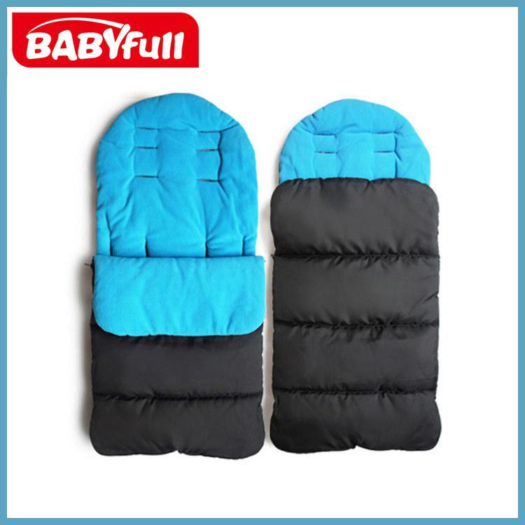 婴儿睡袋秋冬款加厚分腿宝宝睡袋夹棉抱被婴儿推车脚套
