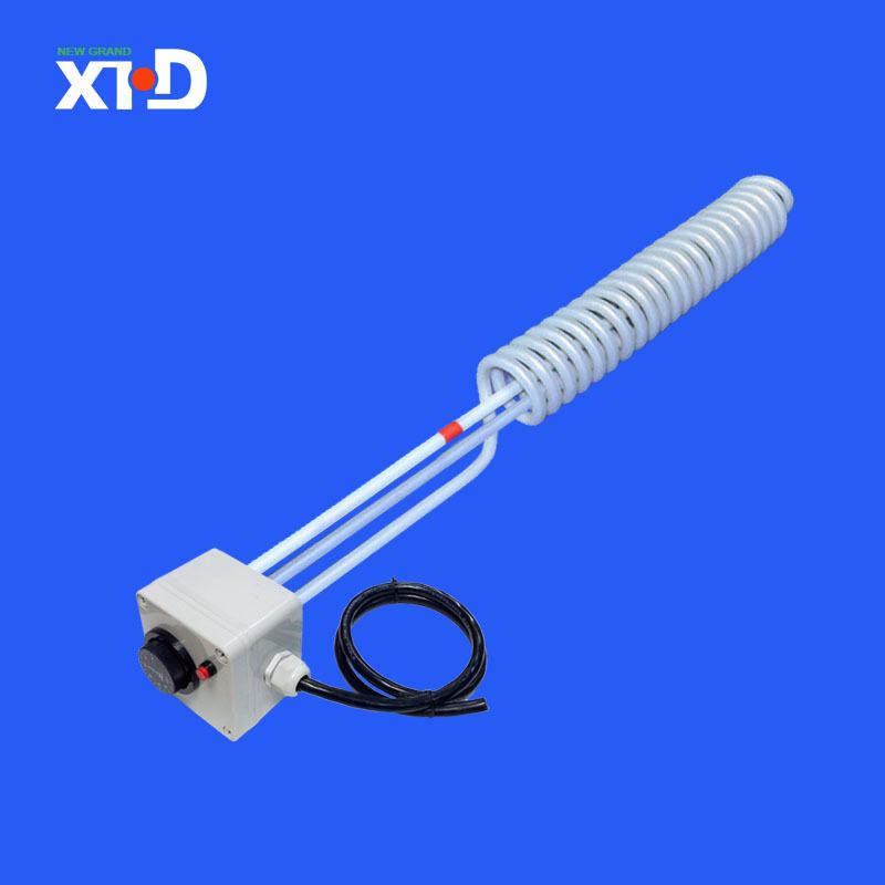 温控可调铁氟龙电加热管 自动控温节能电加热管