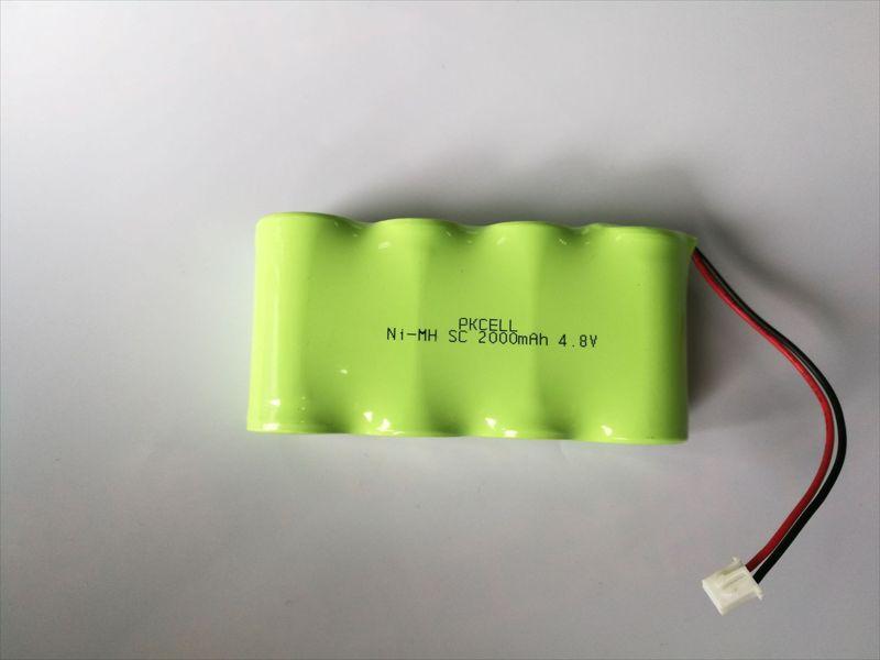 厂家直销镍氢充电电池组-SC2000mAh4.8V