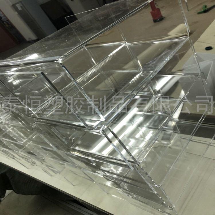 透明亚克力盒子 有机玻璃包装盒 陈列盒 天地盖展示盒 专业定制