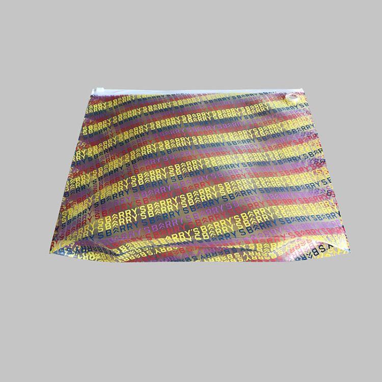 厂家供应pvc拉链袋日用品包装袋自立拉链袋pvc折底塑料袋可定制