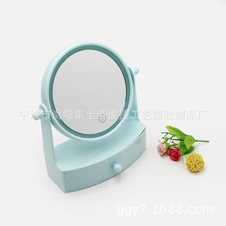 LED台式化妆镜 触摸感应led台式化妆镜 led化妆镜