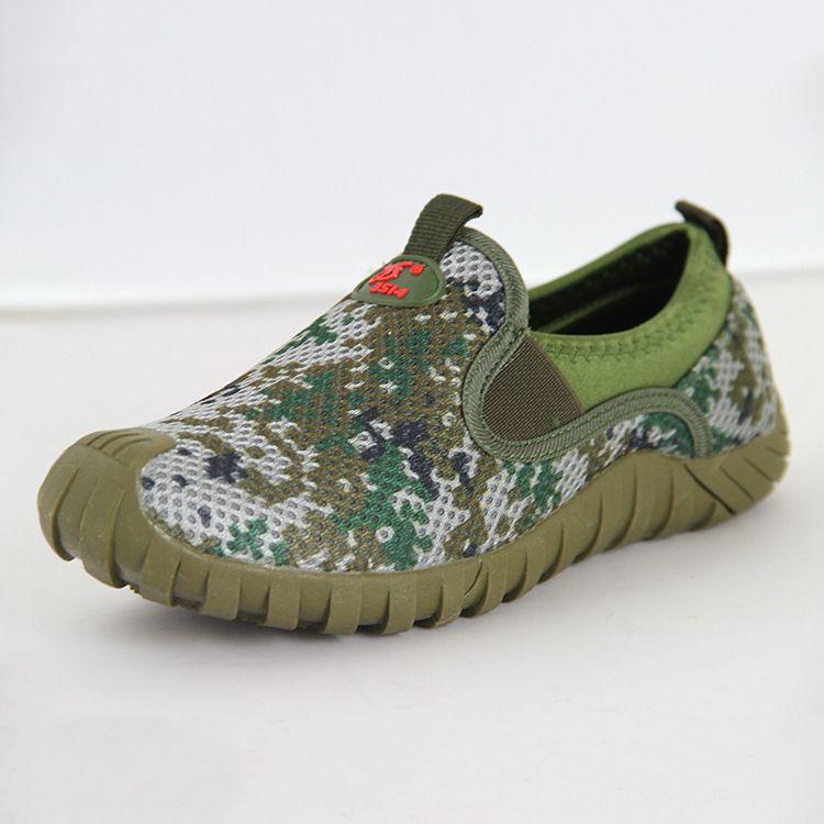 际华3514陆军休闲鞋轻便防滑户外运动休闲迷彩鞋男士厂家直销