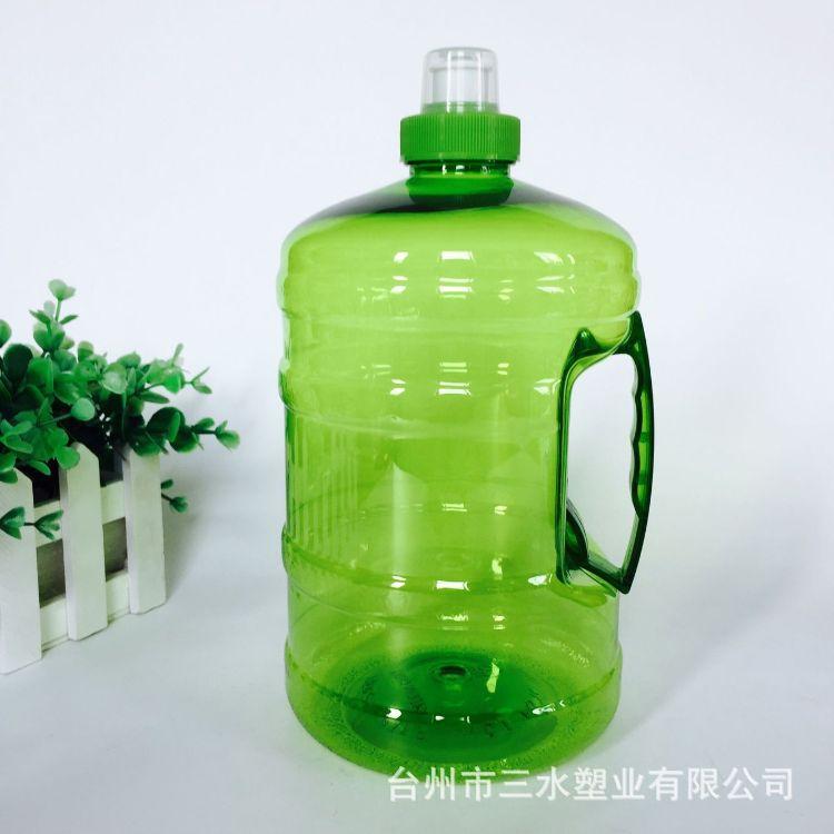 厂家生产 2L手提冷水壶 户外塑料桶 大容量纯净水桶 现货批发