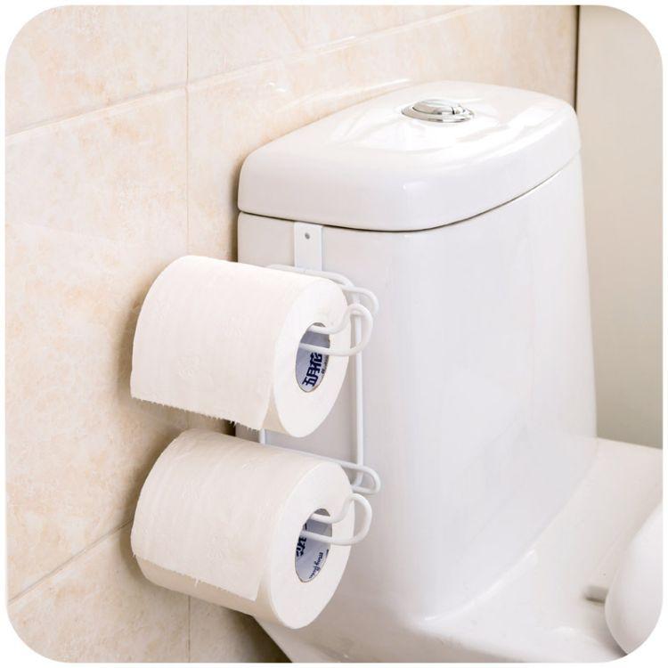 创意家居用品日式纸巾架 卷纸架卫浴用品抽水马桶座便器纸巾架