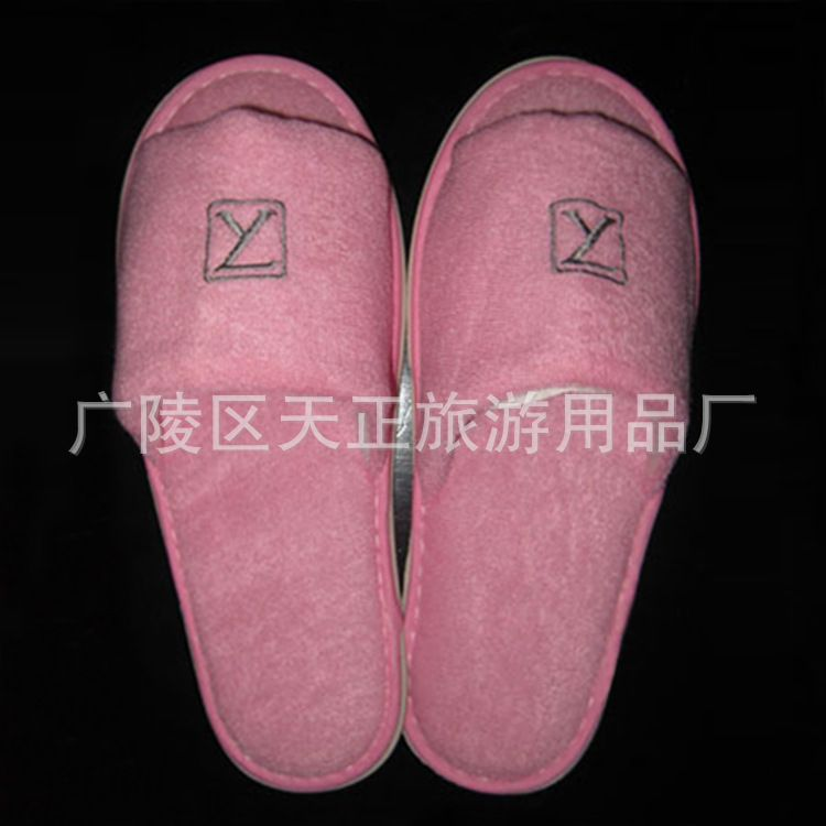 酒店拖鞋定制宾馆酒店一次性拖鞋 酒店一次性用品旅游便携式拖鞋
