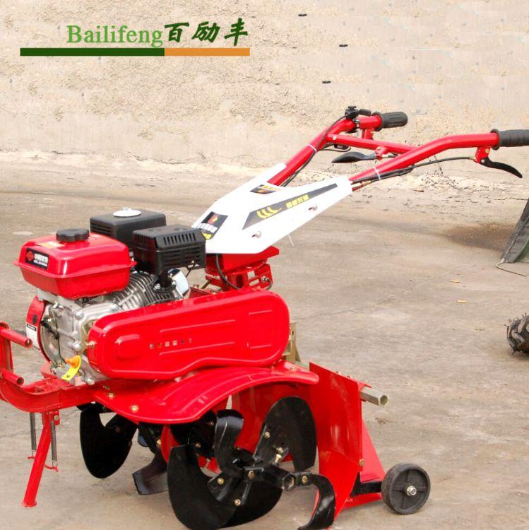 产地货源 手把可旋转家用除草旋耕机 自走式小型汽油微耕机