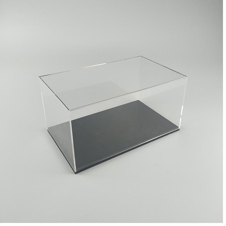 亚克力动漫模型防尘罩 透明亚克力盒子定制 透明电子产品展示盒