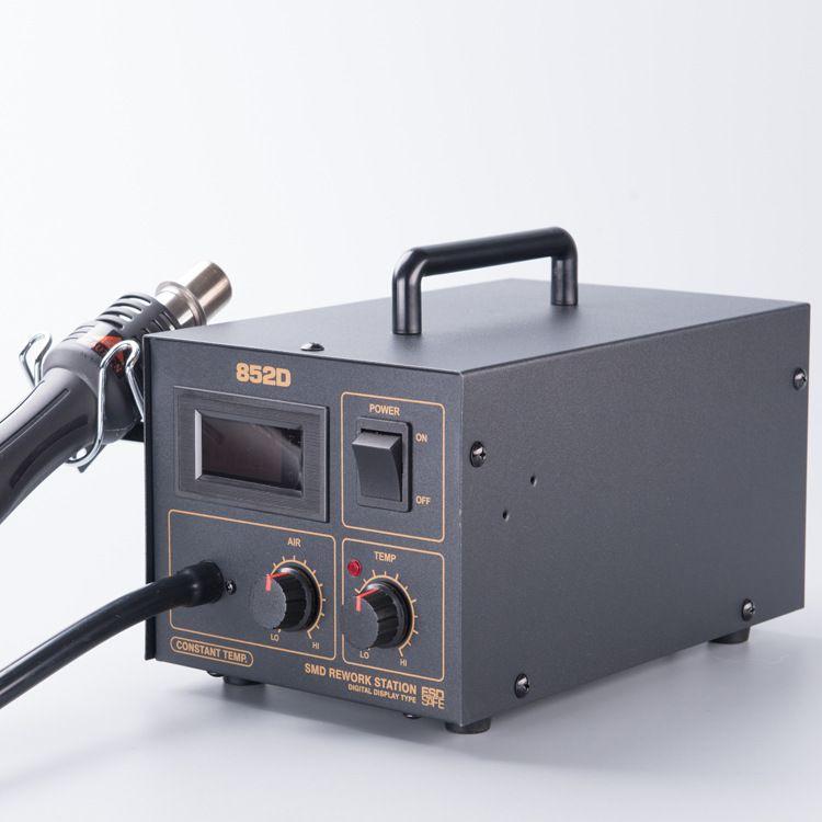 厂家直销无铅热风拆焊台CSD852D数显风枪 拆焊台 气泵式