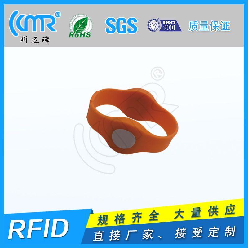 rfid雙頻腕帶 RFID硅膠腕帶芯片手環 IC手環人員管理手環