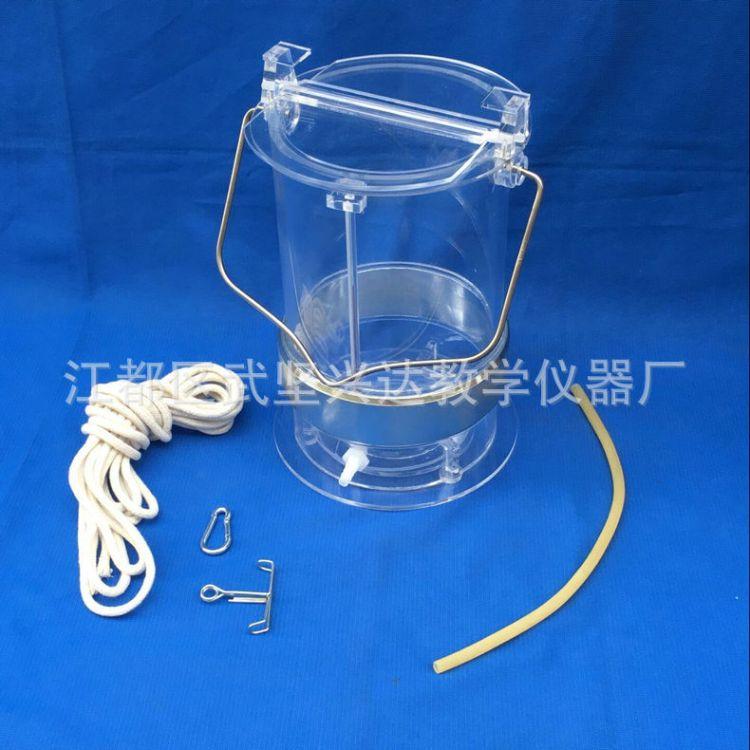 厂家批发 有机玻璃采水器 3L有机玻璃采水器 有机玻璃采水器加工