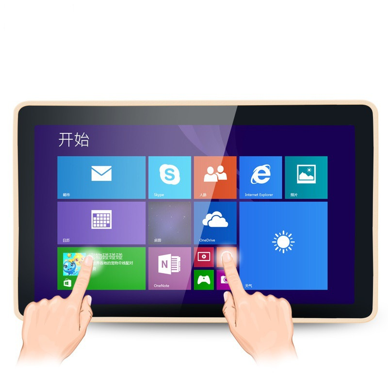 21.5寸触摸一体机壁挂式电容式触控查询触摸机安卓版电脑版触摸机