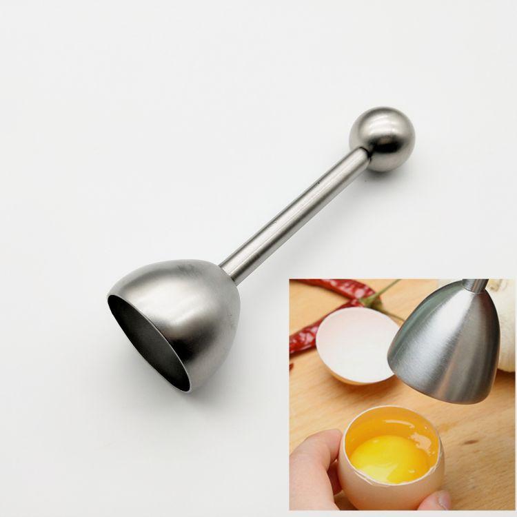 不锈钢开蛋器 蛋壳切割器  弹珠开蛋器 创意切蛋器 DIY烘焙工具