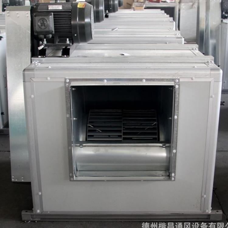离心式排烟风机箱HTFC消防排烟风机箱3C认证大风量耐高温排烟风机