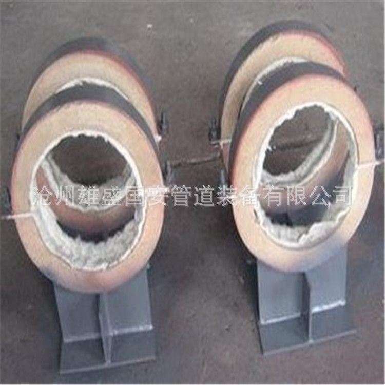 长输蒸汽管道用隔热支架 隔热管托 隔热效果好 安装简单 各种规格