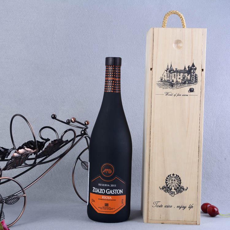 苏索 嘉斯顿陈酿干红葡萄酒