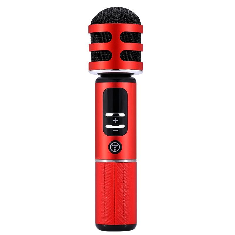 途讯05车载K歌宝动圈手机麦克风无线蓝牙话筒K歌神器礼品定制新款