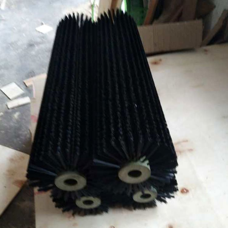 专业生产  尼龙丝毛刷辊  定制毛刷辊 玻璃清洗机毛刷辊