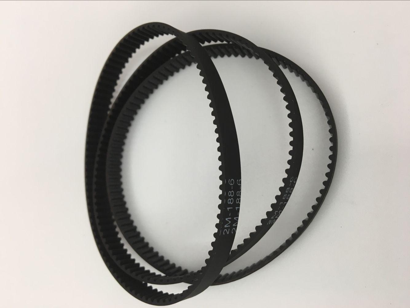 橡胶同步带 小齿距传动带 S2M MXL 2GT 2M T2.5 周长188MM94齿