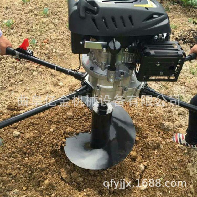挖坑机生产基地 汽油手提挖坑机 河南挖坑机产品规格