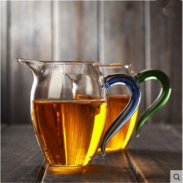 厂家批发耐热玻璃公道杯 玻璃茶海茶杯 l玻璃公道杯 分茶器