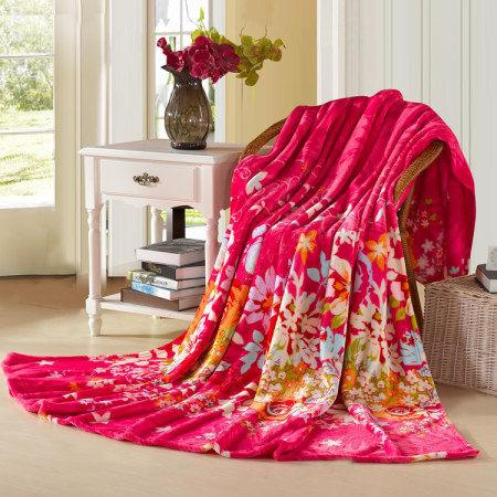 怀梦礼品法兰绒毛毯 珊瑚绒毯子低价批发  厂家直销加厚空调毯
