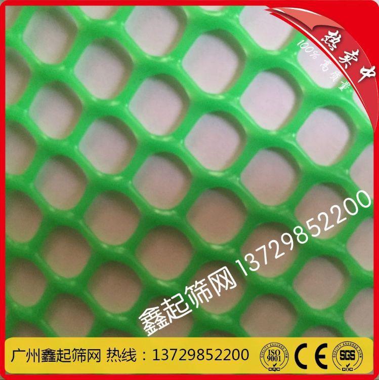 广州厂家批发塑料网、养殖网、养鸡网、隔离围栏网塑料平网