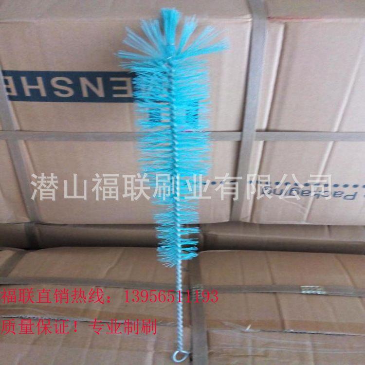 【福联毛刷】直销各种规格缠绕试管刷、尼龙丝管道刷、洗瓶刷