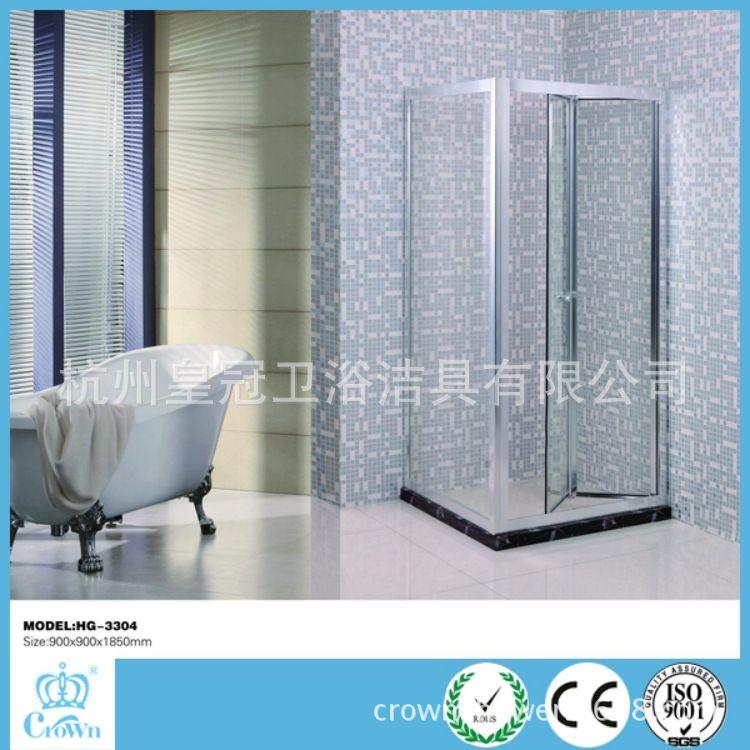 杭州工厂生产供应非标定制出口热销款折叠式简易淋浴房(HG-3305)