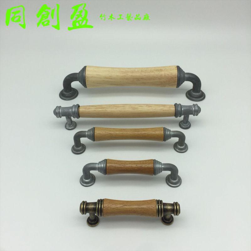 木拉手木凹槽配件 五金配件优质凹槽 五金配件 抽屉门窗拉手