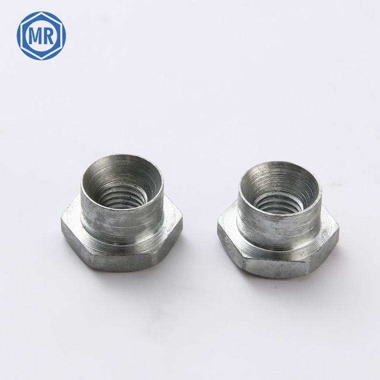 T型六角螺母紧固件 自锁六角螺母 金属锁紧螺母 防松螺帽M10 定制