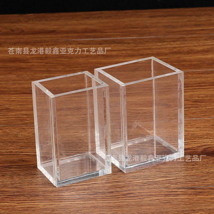透明亚克力盒子定做logo 有机玻璃展示盒 创意亚克力礼品包装盒