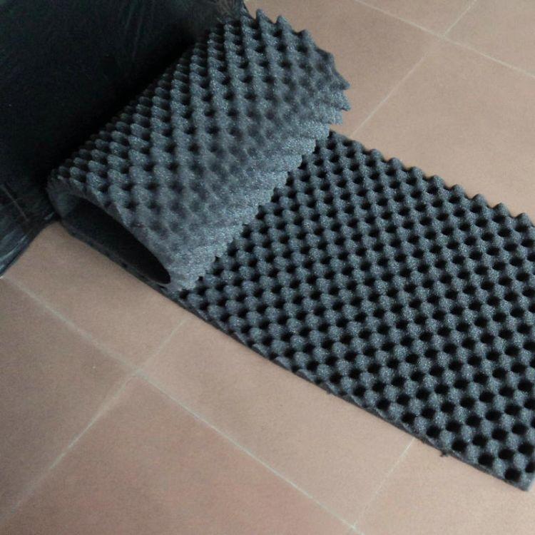 厂家直销生产波浪海绵 高密度波浪吸音海绵 波浪海绵可定制